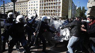 Φοιτητές και αστυνομικοί