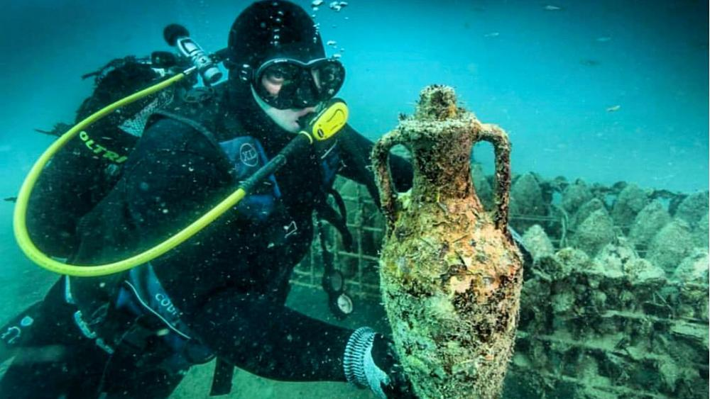 The ultimate wine tour is in Croatia, 20 metres under the sea