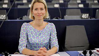 Estonia first woman premier