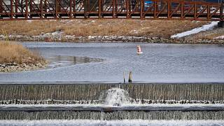 ABD'deki Flint nehri