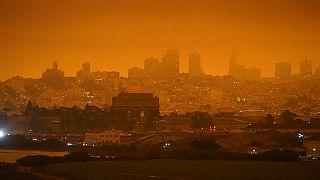 Incêndios perto de San Francisco, em setembro de 2020