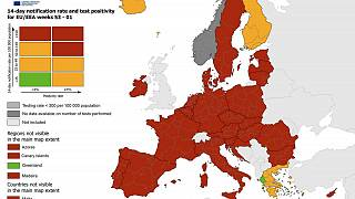 map is based on data reported by EU Member States to The European Surveillance System (TESSy)