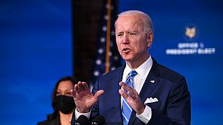 Security beefed up as countdown begins to Biden's inauguration
