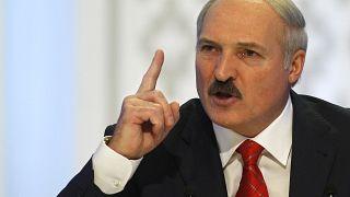 FILE: Alexander Lukashenko in Minsk, Belarus, Dec. 20, 2010.
