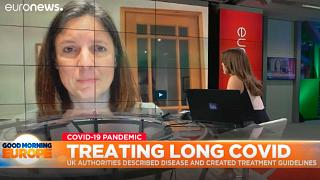 Claire Haste, fondatrice del gruppo di supporto Long Covid, intervistata nell'ambito del programma GME