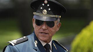 Foto de archivo del exministro de Defensa, el general Salvador Cienfuegos Zepeda