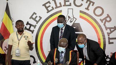 Ouganda: Museveni en tête des résultats partiels