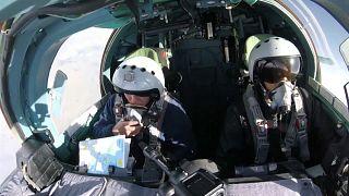 A bord d'un appareil russe