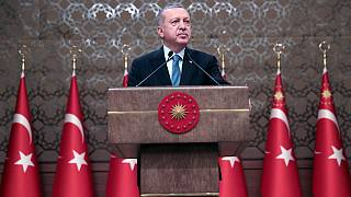الرئيس التركي، رجب طيب إردوغان في أنقرة تركيا.