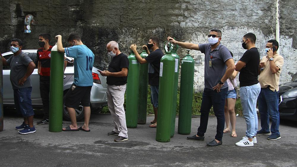 Brazil's Amazon region suffers deadly lack of oxygen supplies amid COVID pandemic