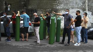 Nincs elég oxigén több brazil kórházban