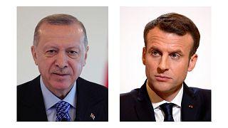 اردوغان و ماکرون