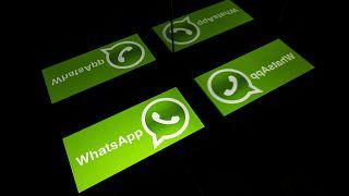 شعار خدمة المراسلة عبر الهاتف المحمول واتساب