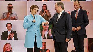 Glückwünsche für Armin Laschet auf dem CDU-Parteitag