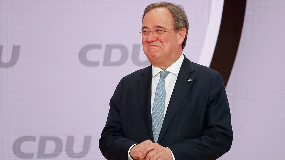 Armin Laschet elected new leader of Germany's CDU party