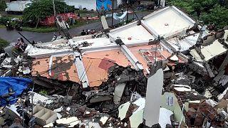 6,2-es erősségű földrengés volt Indonéziában péntek éjszaka