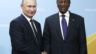 Guinea's President Conde receives Russian COVID vaccine