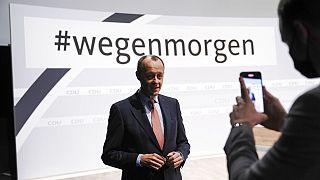 Friedrich Merz auf dem CDU-Parteitag