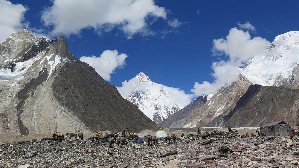 Nepali climbers make history with first winter summit of K2