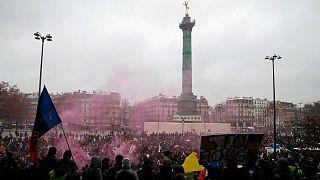 تظاهرات علیه قانون امنیت جامع در پاریس
