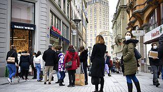 Am 16. Januar konnten die Schweizer und Schweizerinnen letztmalig in nicht-essentiellen Geschäften einkaufen. Das ändert sich am 1. März