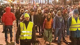 مظاهرات في النمسا