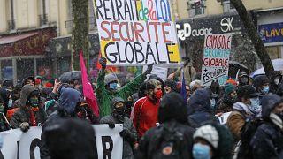 مظاهرات في فرنسا