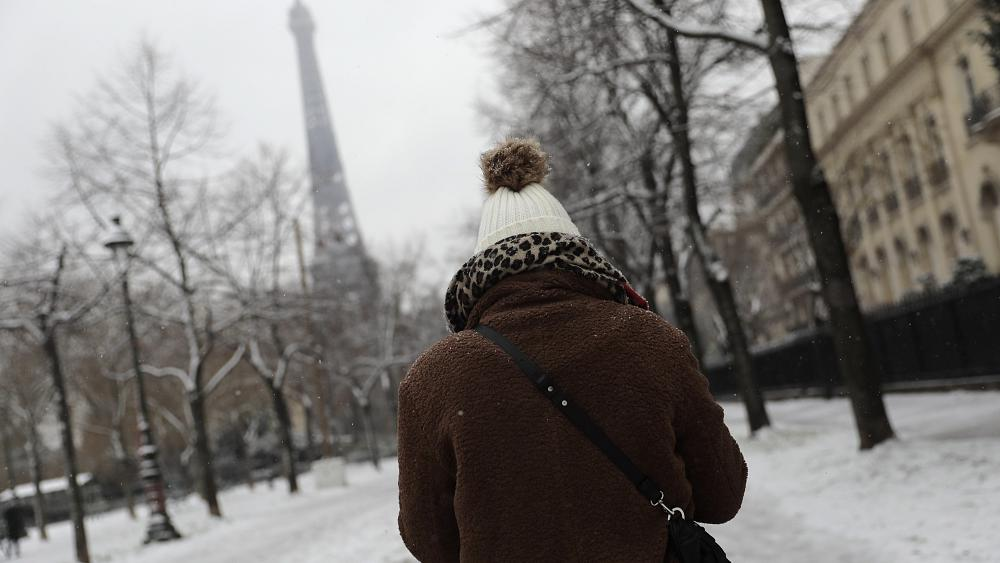 It's a chance to play in the snow as parts of Europe become a winter wonderland