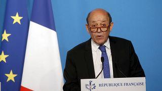 وزیر امور خارجه فرانسه