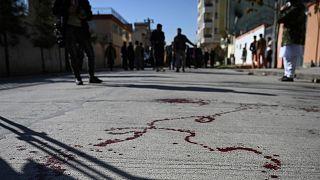 محل ترور دو قاضی زن در کابل