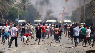 من مظاهرات حدثت في صيف 2020 في تونس