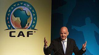 Le patron de la FIFA ému par l'ouverture du CHAN