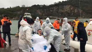 Tödlicher Schiffbruch vor türkischer Küste bei Bartin