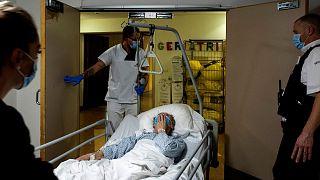 بیمار کرونایی در بلژیک (عکس تزئینی است)
