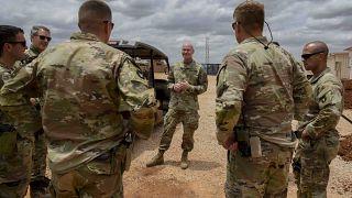 Amerikan askeri personeli Somali ordusunun özel kuvvetlerine terörle mücadele eğitimi veriyordu