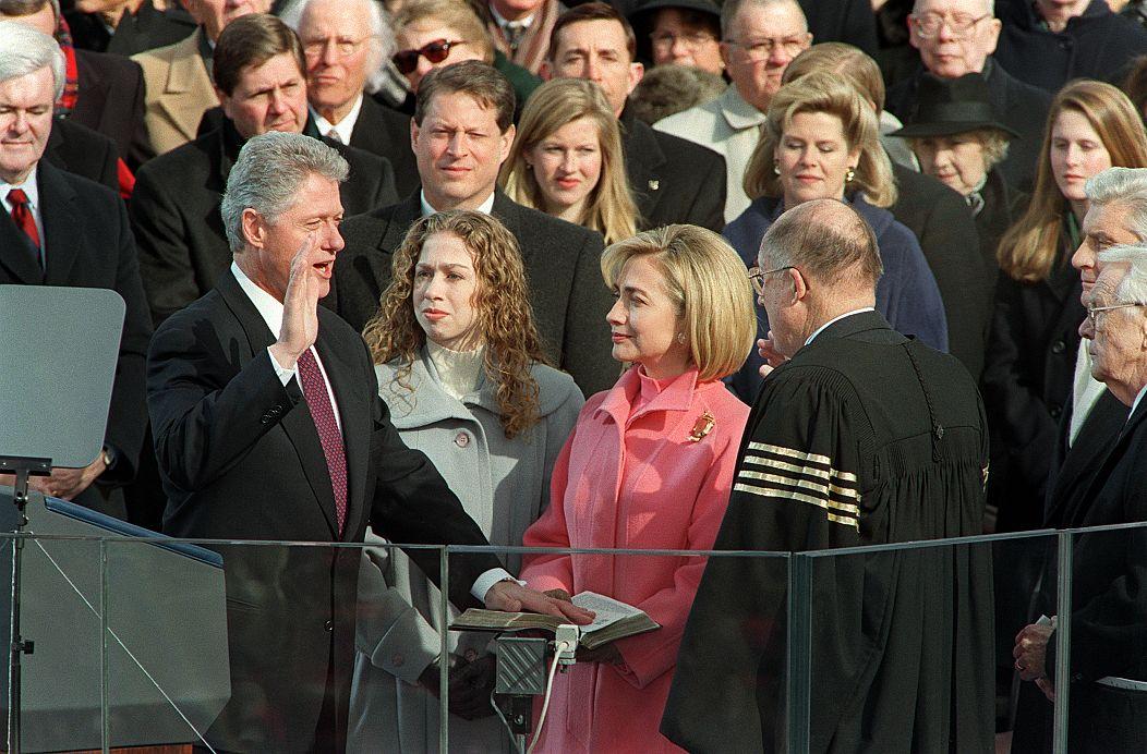 20 January 1997. Timothy A. Clary/AFP