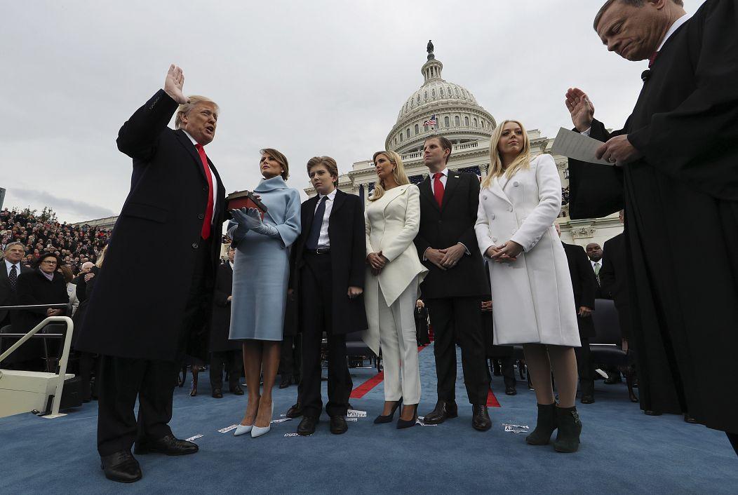 January 20, 2017. Jim Bourg/AP