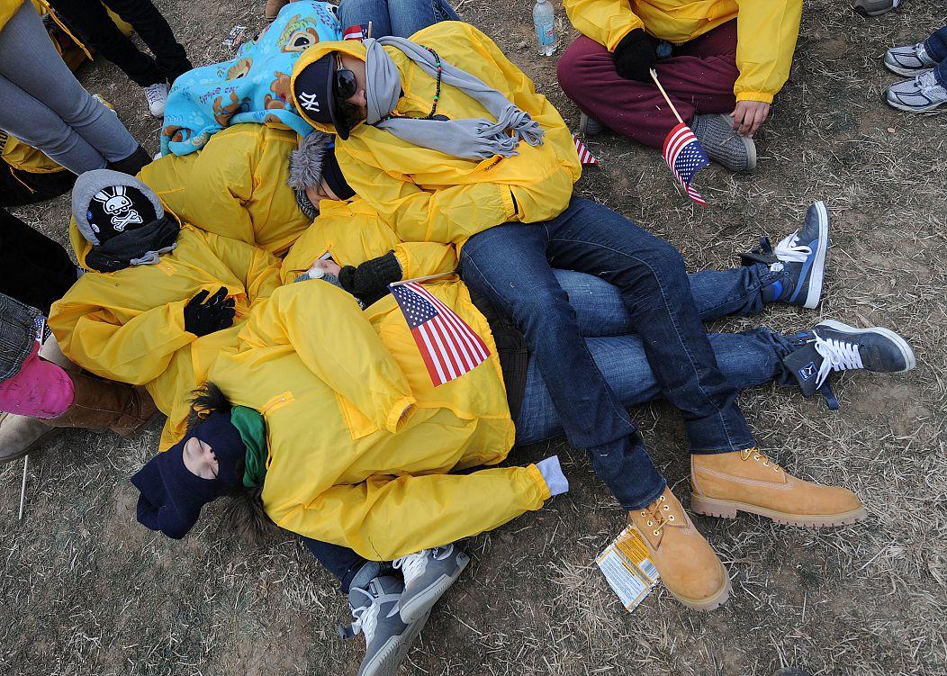 Washington, D.C. January 20, 2009. Mark Ralston/AFP
