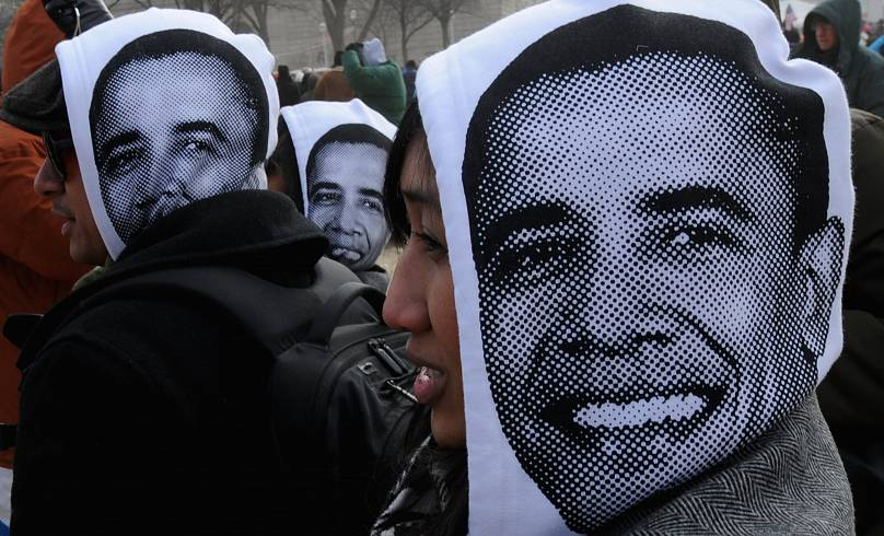 20. Januar 2009. Mark Ralston/AFP