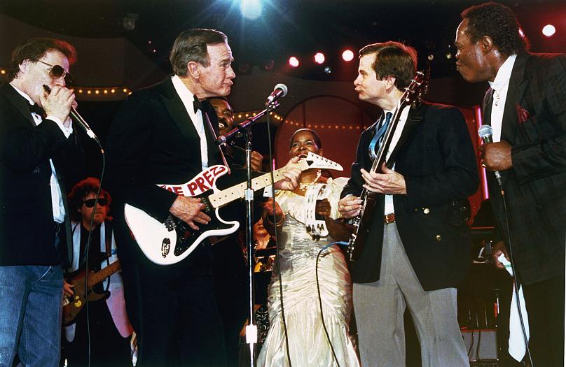 Washington D.C. 20. Januar 1989. J. Scott Applewhite/ AP