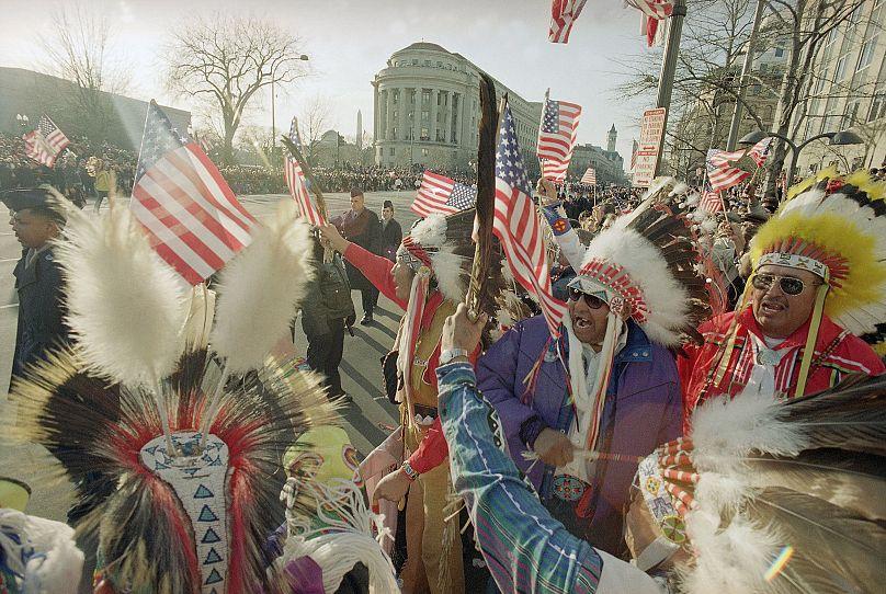 Washington, D.C, USA. January 20, 1993. Mark Lennihan/AP