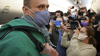 Navalnij hazaindul Berlinből 2021. január 17-én