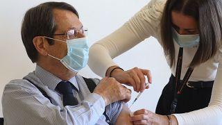 Νίκος Αναστασιάδης εμβολιασμός κατά Covid-19