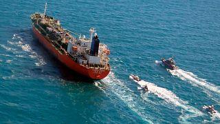 نفتکش توقیف شده کره جنوبی توسط سپاه پاسداران