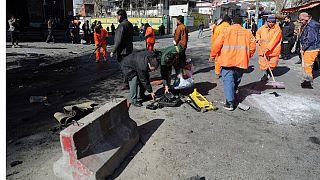 عکس آرشیوی از انفجار کابل