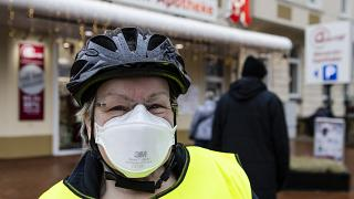 Baviera impõe uso de máscaras FFP2