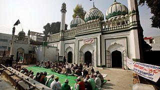 قرآن خوانی مسلمانان هندی در سالگرد تخریب مسجد بابری
