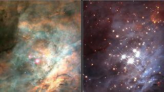 NASA'nın Huble Uzay Teleskobu ile görüntülenen cüce gezegenler