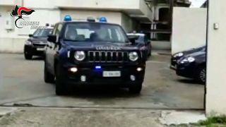 Italienisches Polizeiauto.