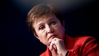 Uluslararası Para Fonu (IMF) Başkanı Kristalina Georgieva
